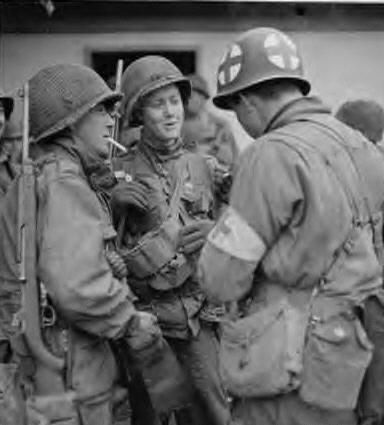 amerikanischer soldat pause